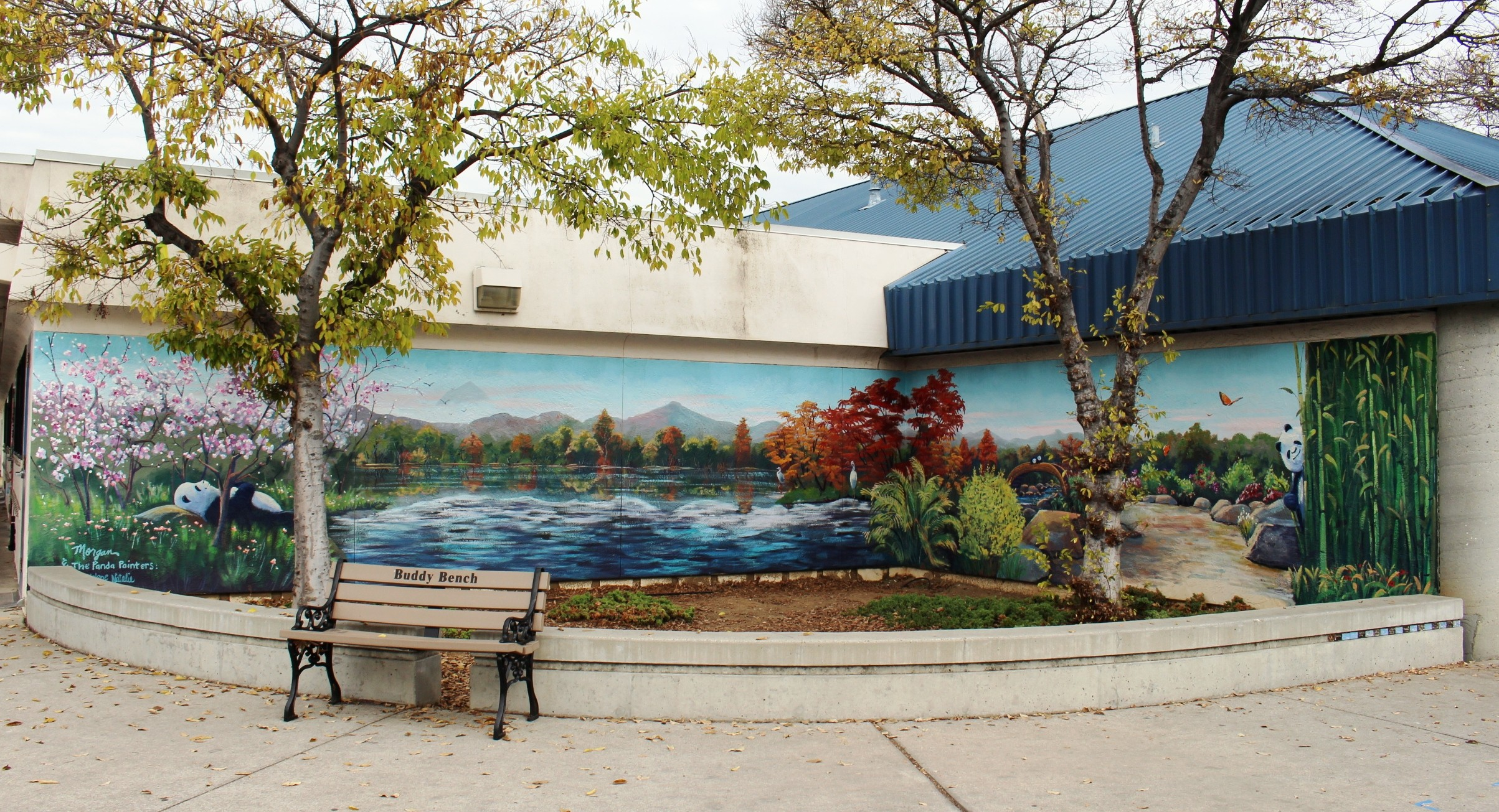 Portfolio natalie way murals art murals amipublicfo Image collections